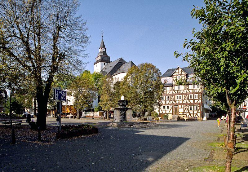 Haiger, LahnDillKreis, Hesse, Germany the town that my