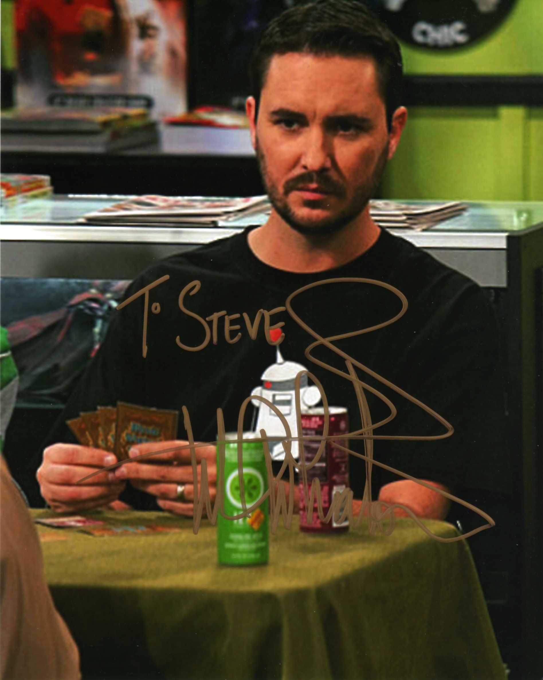 Wil Wheaton (The Big Bang Theory)(Signed at Wizard World NYC 6-29-13)