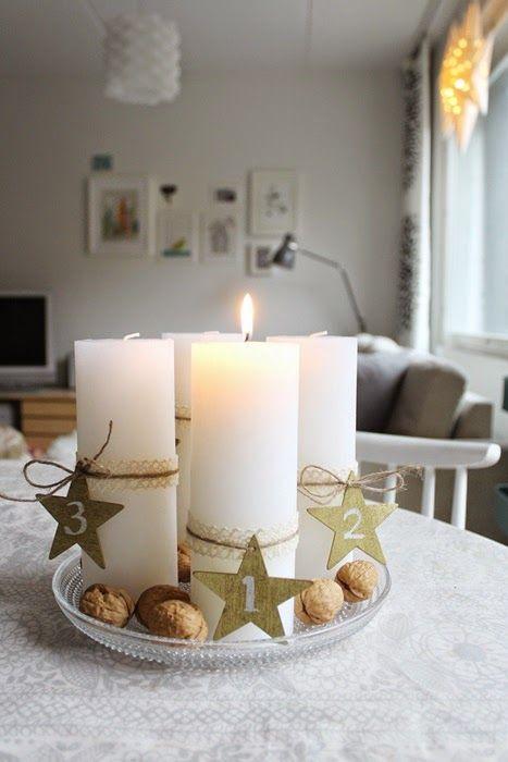 Advent candles / Kotisaari