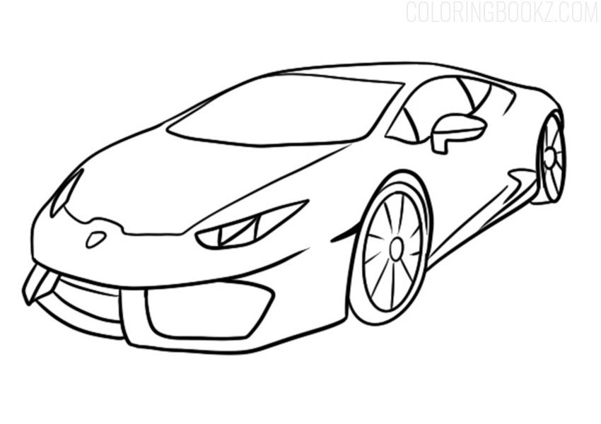 Lamborghini Huracan Coloring Page Lines Art Coloring Books Lamborghini Lamborghinihuracan Lamborghini Huracan Race Car Coloring Pages Cars Coloring Pages