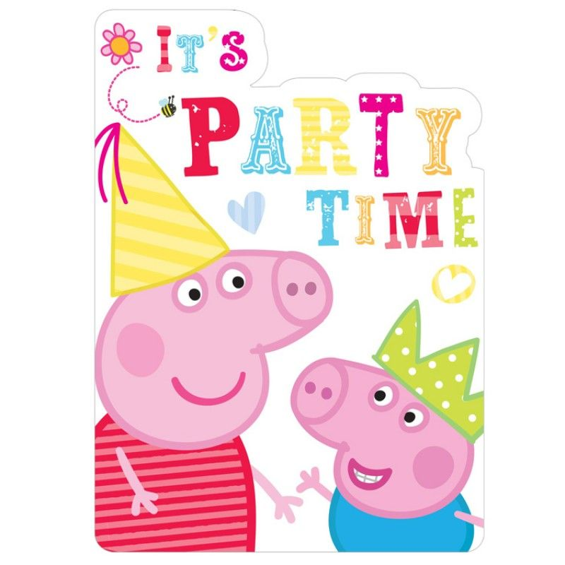 It\'s Party Time! Peppa Pig and George image (15 Repins) | Peppa ...