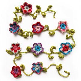 Bloemenslinger Haken Crochet Pinterest Crochet Crochet