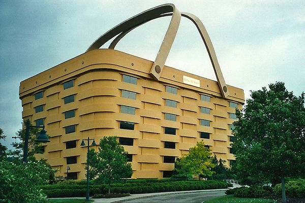 longaberger home office. Longaberger Home Office In Newark, Ohio. Manufacturer And Distributor Of Handcrafted Maple Wood Baskets Y