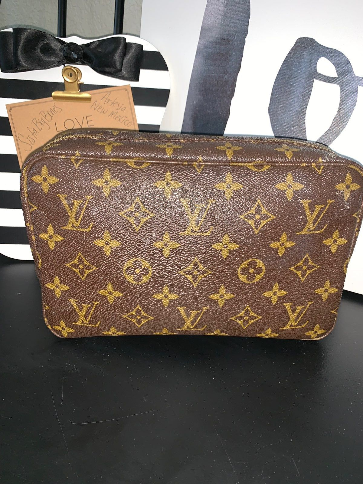 Authentic Heavily Used Louis Vuitton Trousse 23 Sticky And Messy Is What This Trousse Is It Needs Louis Vuitton Cosmetic Bag Used Louis Vuitton Louis Vuitton