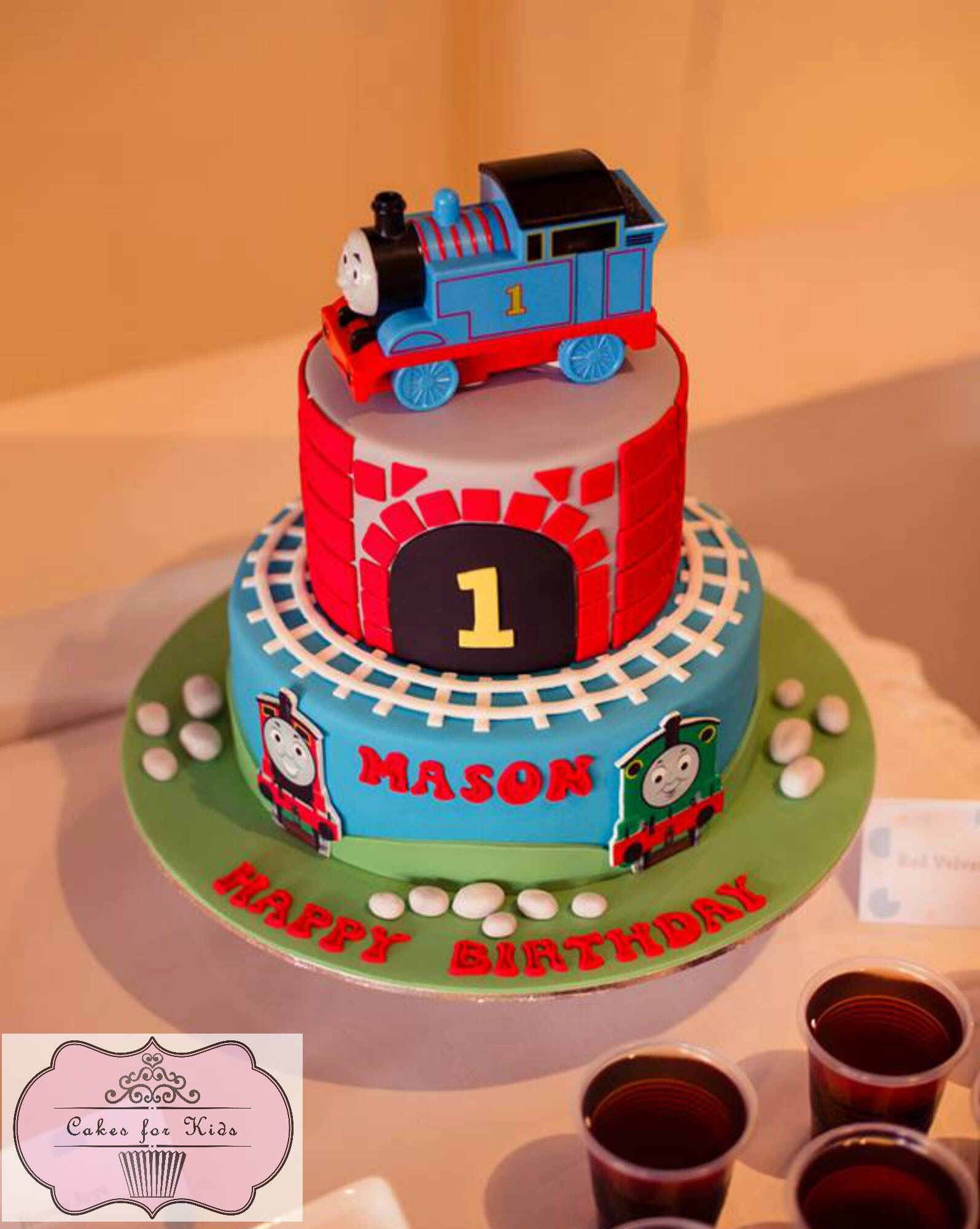 Brilliant Thomas Theme Friends Birthday Cake Thomas And Friends Cake Funny Birthday Cards Online Fluifree Goldxyz