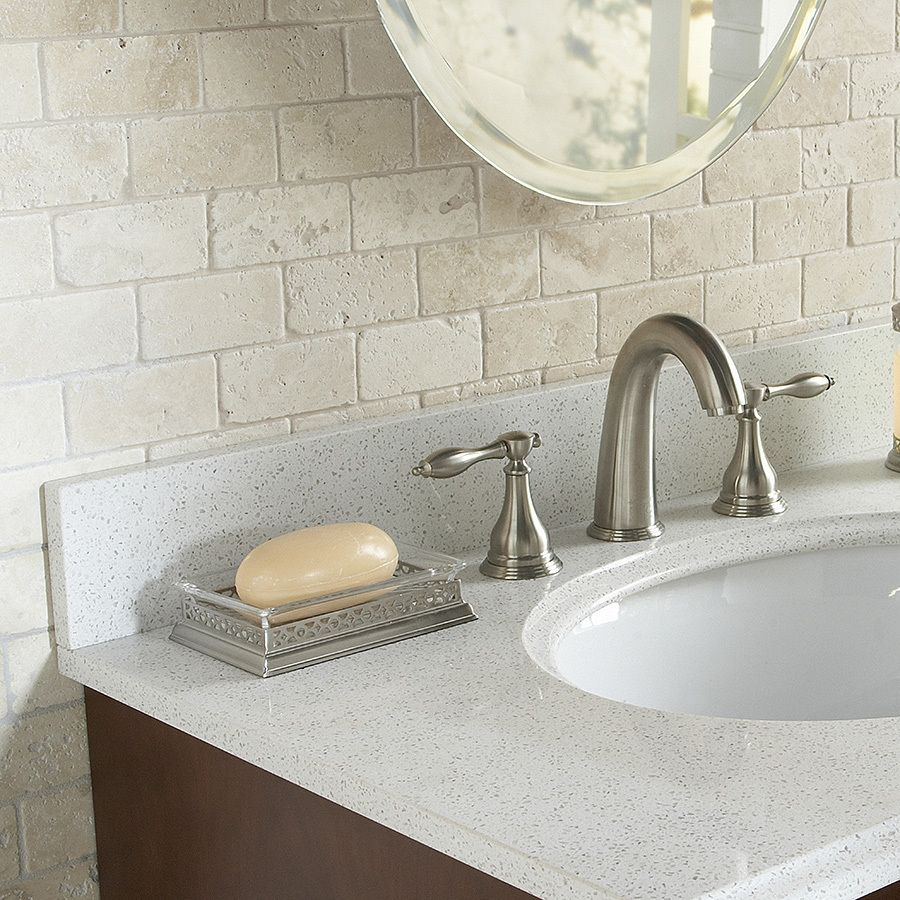 Add natural textural detail with stone mosaic subway tile this add natural textural detail with stone mosaic subway tile this neutral tile coordinates nicely dailygadgetfo Image collections