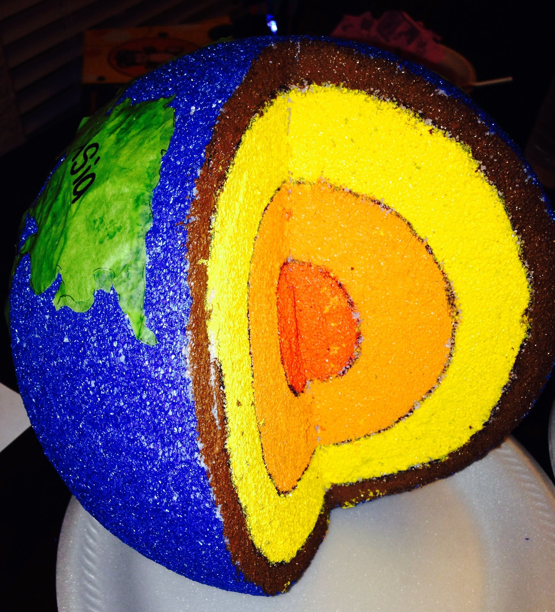 3d Model Of Earths Layers