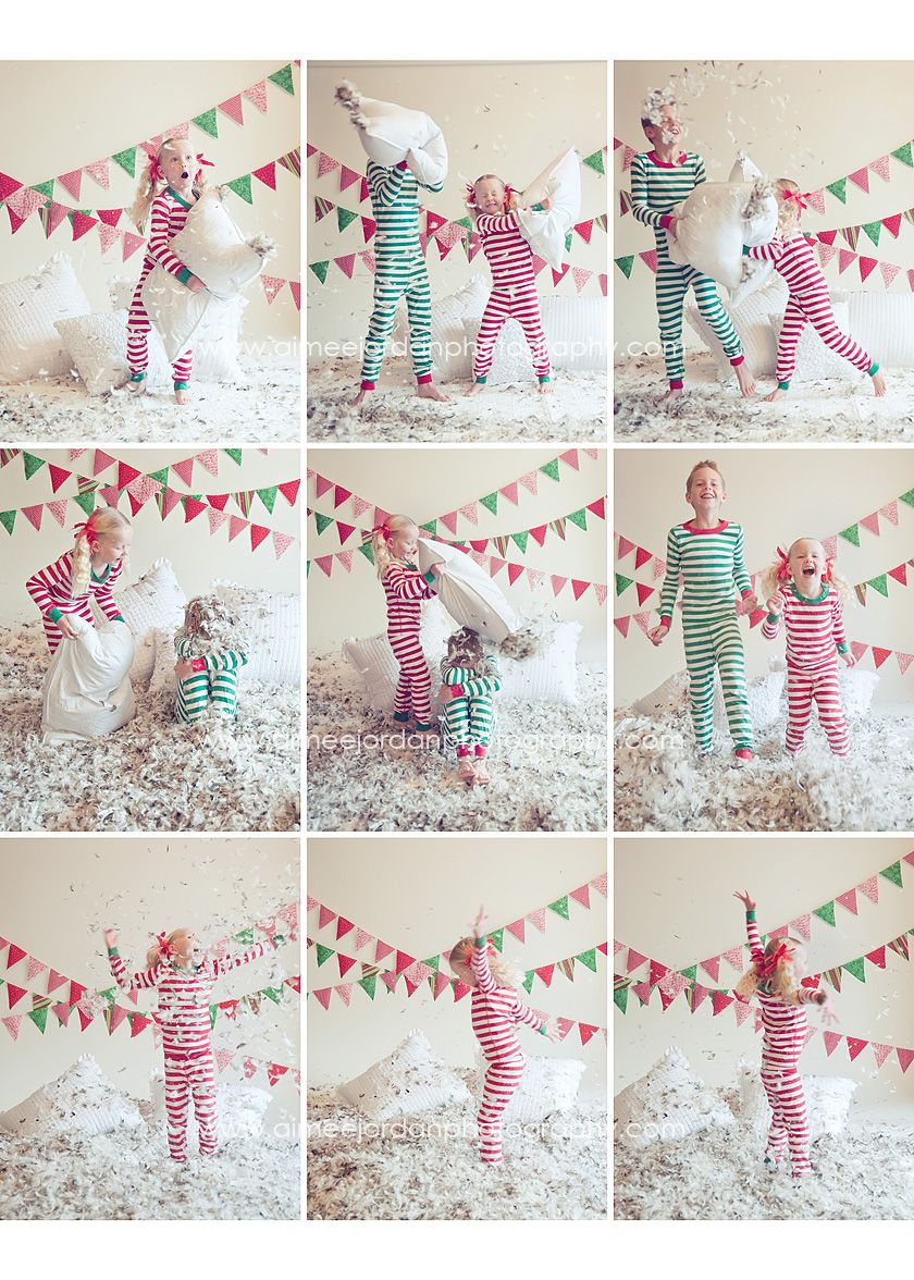 PJ pillow fight...found my next photo shoot...L-O-V-E!!!!!