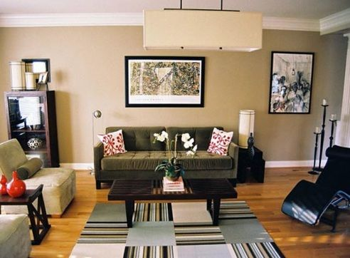 Area Rug Ideas For Small Living Room Rugs In Living Room Living Room Decor Brown Couch Brown Living Room