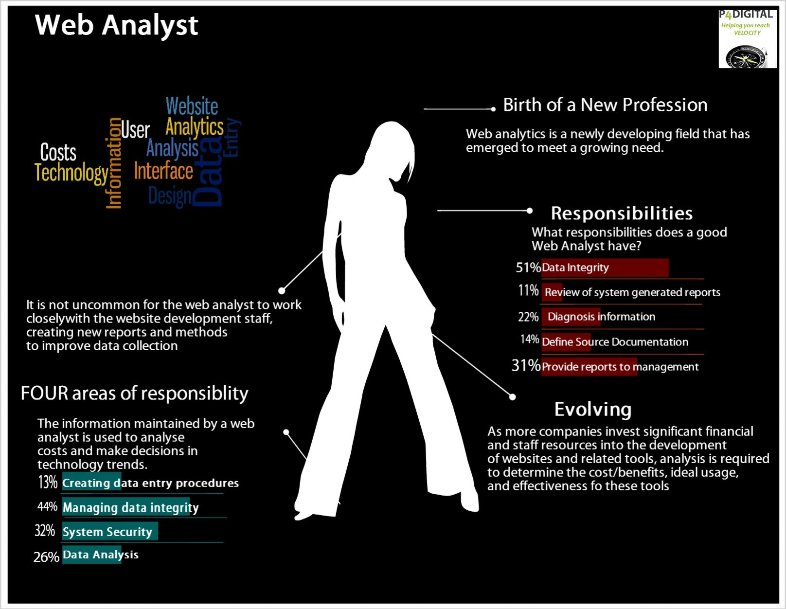 Web Analyst  Job Infographics
