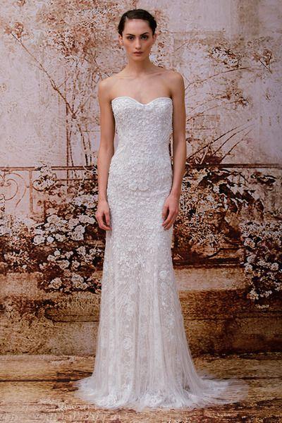 Monique Lhuillier Monique Lhuillier Wedding Dress Designer Wedding Dresses Used Wedding Dresses