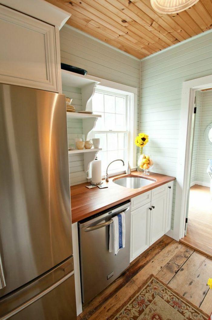 Comment aménager une petite cuisine? Idées en photos! Cozinhas