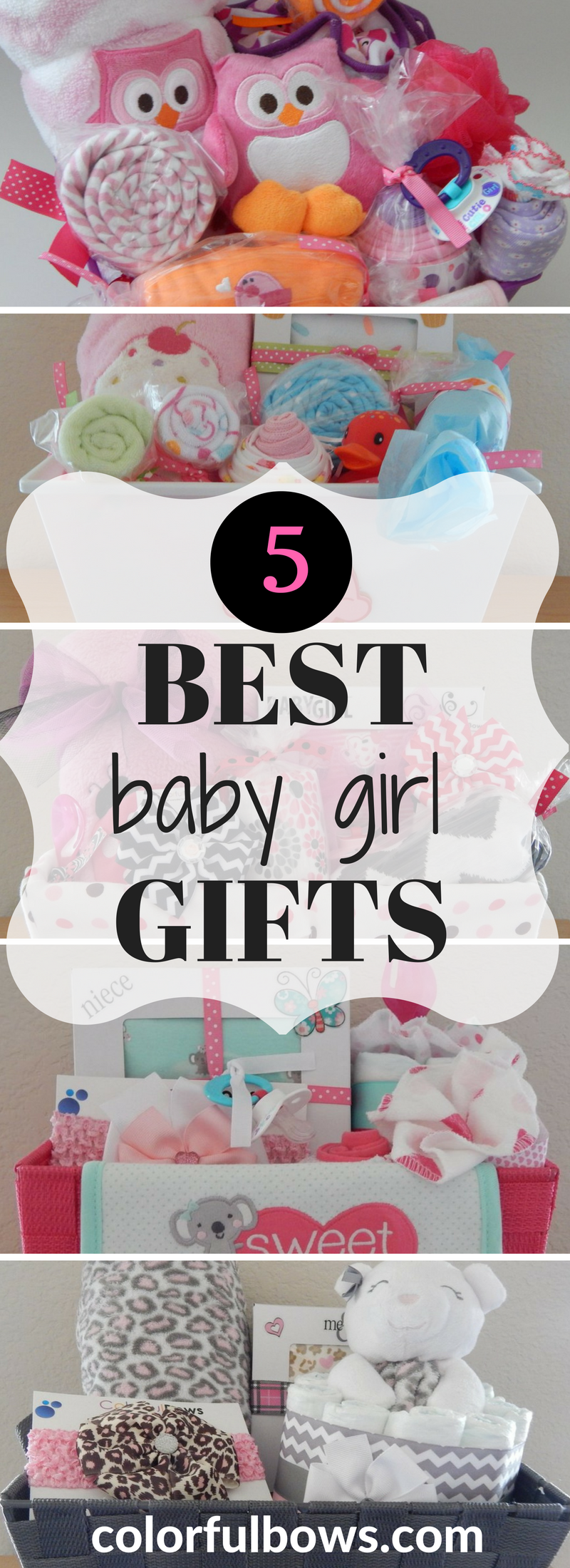Need a new baby girl gift but don't have time to shop around? We have you covered! To save you time, we put together a collection that includes 5 of our baskets that would definitely make a great gift for a new baby girl or baby shower. Come and take a look for yourself!