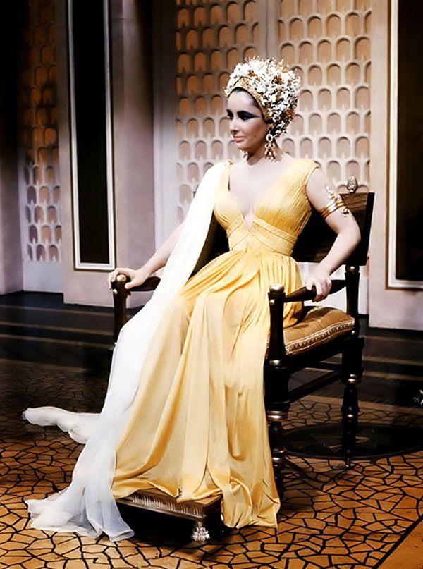 Irene Sharaff - Costumes de Films - Cléopâtre - 1963 - Elizabeth Taylor - Coiffe