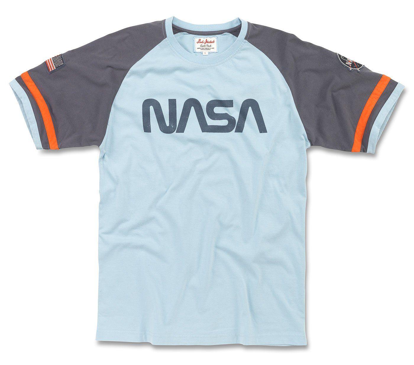 NASA Worm Logo TShirt Tshirt logo, Vintage nasa, T shirt