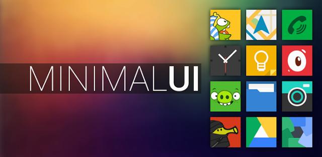 Minimal UI Go Apex Nova Theme v2 5 | Free Android APK Games