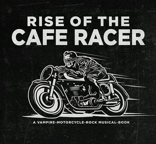Retro Posters Cafe Racer Art