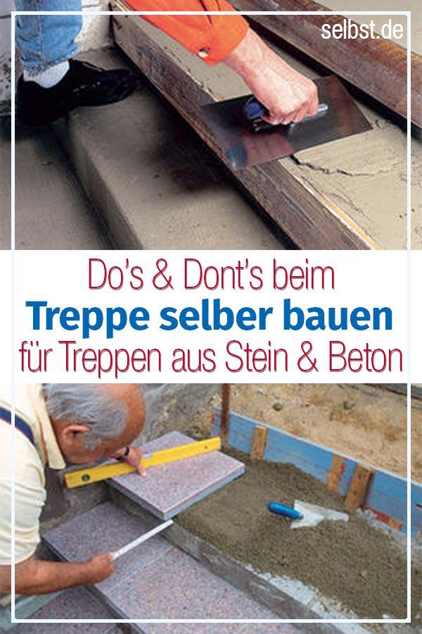 treppe selber bauen terrasse gartenwege und co. Black Bedroom Furniture Sets. Home Design Ideas