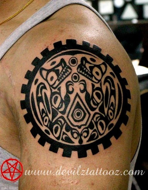 Twilight Saga Inspired Tattoos Quileute Wolf Symbol Tattoos Twilight Wolf