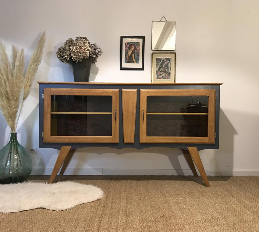 meuble tv vintage gauvain meuble