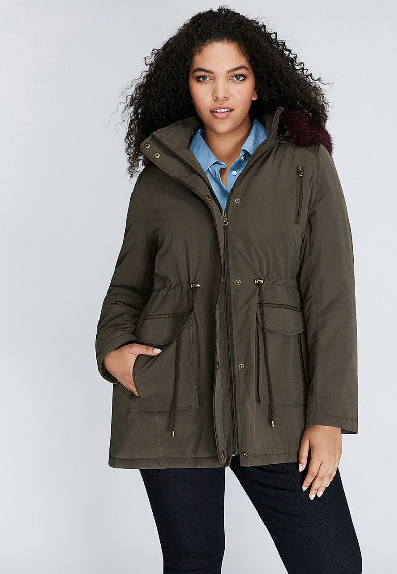 Just In Time For Chicago Winters Lane Bryant Plus Size Winter Jackets Outerwear Jackets Plus Size [ 1129 x 782 Pixel ]