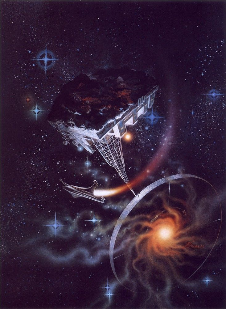 Frank Kelly Freas (1922-2005) —  Research Station, 1993 (733x1000)