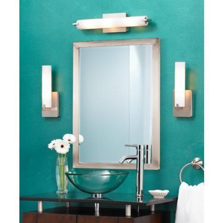 George Kovacs Wide ADA Compliant Bathroom Light Style - Ada compliant bathroom remodel