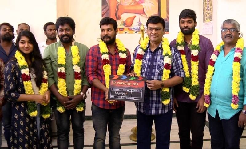 Director Bhagyaraj At 8 Thottakal & jiivi fame Vetri New Movie Pooja