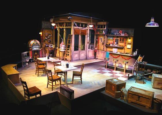 scenic designer portfolio theater jimmy dean five and dime ...