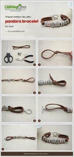 El hada de los cuentos: Tutoriales fáciles para hacerte tus pulseras.
