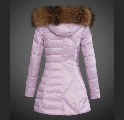 veste moncler femme rose