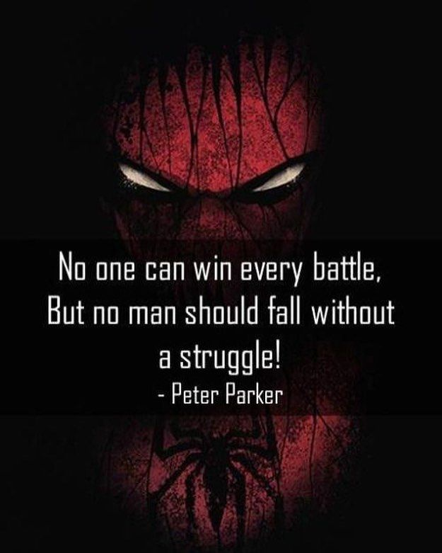 Pin by Sharon Ramos on Quotes | Superhero quotes, Spider ...