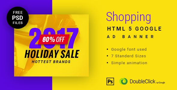 Online shopping - HTML Animated Banner 10 . Features | Web Design ...