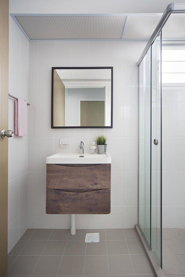 Bathroom Design Ideas 7 Simple Contemporary Hdb Flat Bathroom Mesmerizing Hdb Bathroom Design Inspiration