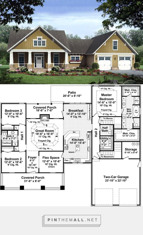 single story w/ bonus over 2-car attached garage, 3 split bedrooms on attached garage additions ideas, attached garage doors, attached garage design, attached apartment house plans, utility room house plans, angled attached garage plans, post modern style house plans, attached garage landscape, alley access house plans, den house plans, screened porch house plans, attached garage building plans, first floor master suite house plans, lounge house plans, curved stairway house plans, modern post and beam home plans, 3 car garage plans, attached garage addition plans, 2 bath house plans,