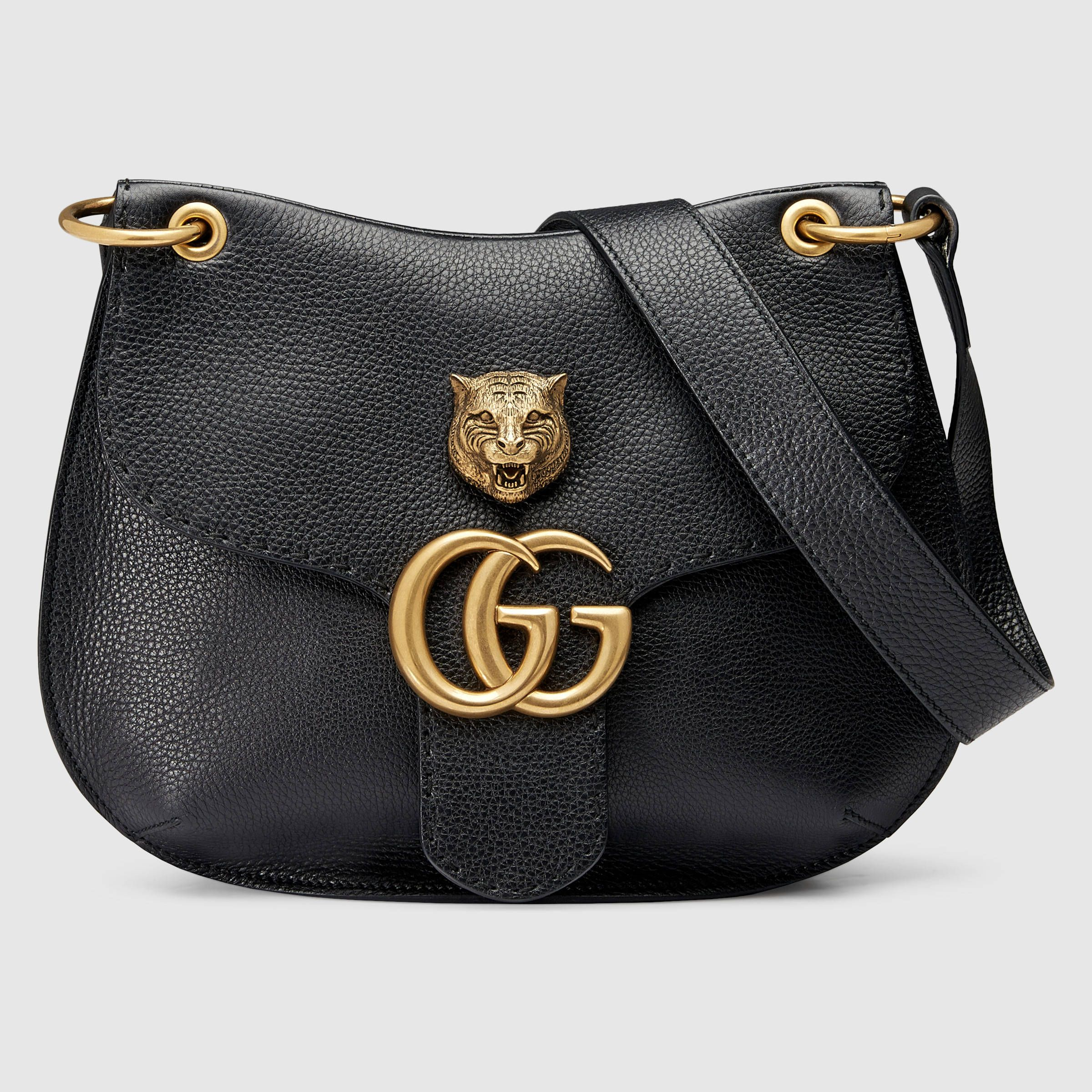 6ccdf5364 Gucci Women - GG Marmont leather shoulder bag - 409154A7M0T1000 ...