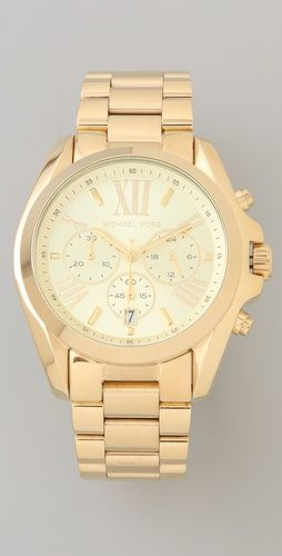 Love this gold Michael Kors watch..time for a new version!