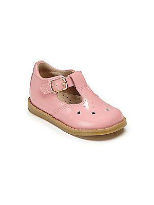 d0d5c10c9fab Footmates Baby s Harper Patent Leather T-Strap Sandals - Light Pink ...