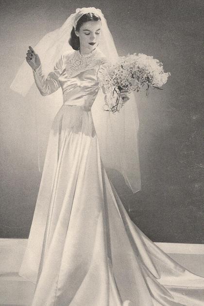 1930 S Bride 3 Bride Dress Vintage Wedding Dresses Vintage Vintage Bride