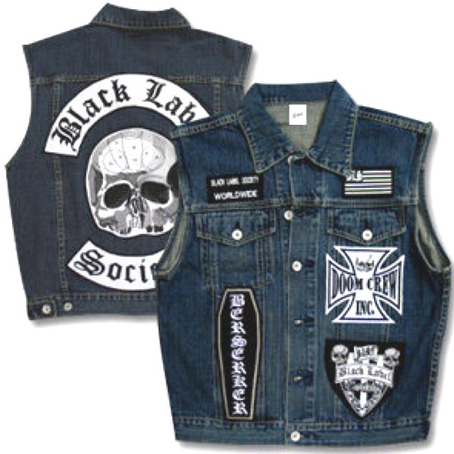 Doom Crew Bls Battle Jacket Black Label Society Black Label