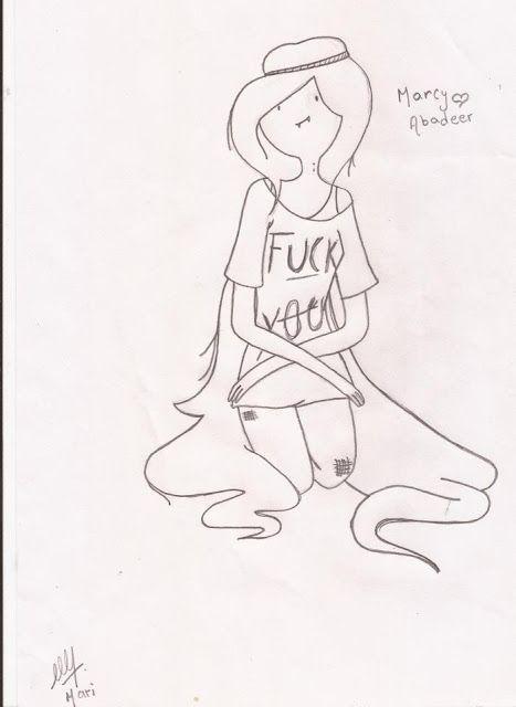 Dibujo de Marceline Hora de Aventura ~ HORA DE AVENTURA | HR DE ...