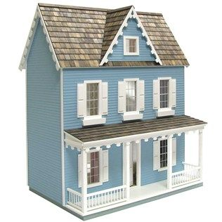Vermont Farmhouse Jr Dollhouse Kit Maybe If I Buy This And Start Now