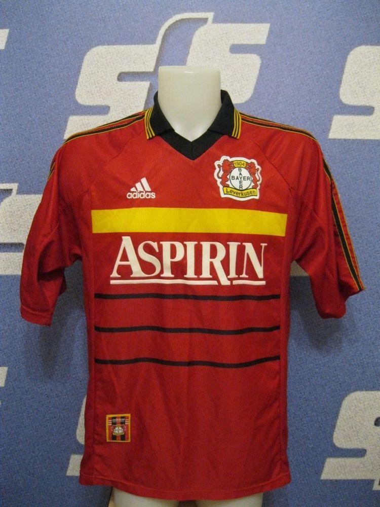 Bayer 04 Leverkusen 199819992000 Size M Adidas football