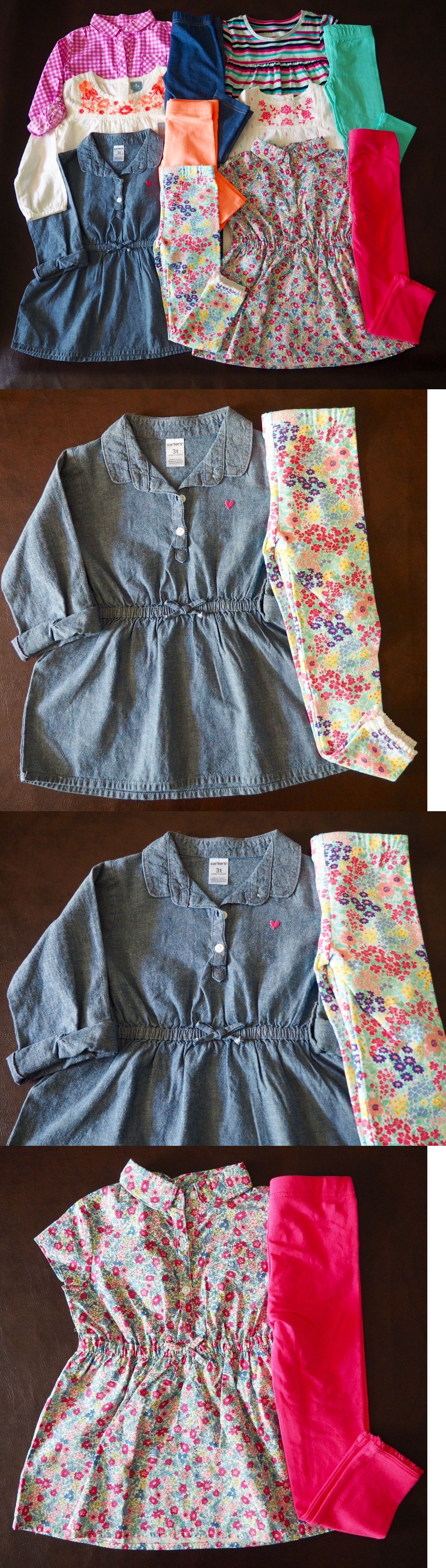 Mixed Items and Lots 147220: New Carter S And Baby Gap Girl S Summer Fall Lot Legging - 11 Pieces - Size 3 3T -> BUY IT NOW ONLY: $75 on eBay!