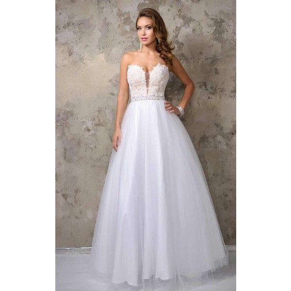 Nina Canacci 1208 Wedding Reception Dress Long Strapless