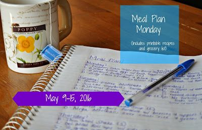Darcie's Dishes: Meal Plan Monday: 5/9-5/15/16 ~ A one week meal plan that is 100% Trim Healthy Mama compliant. It is printable and has a printable shopping list to go along with it.