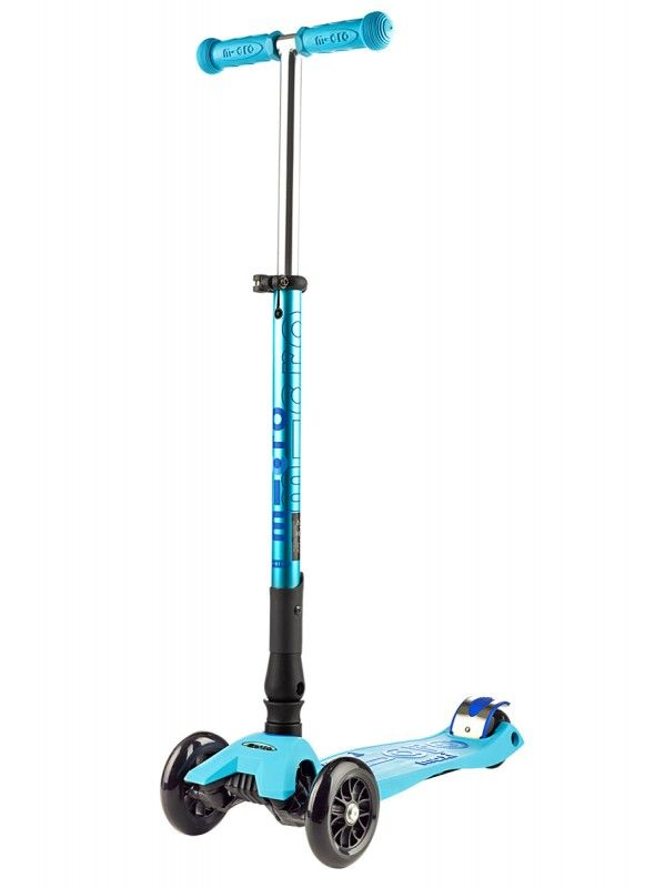 maxi micro DELUXE with folding t-bar blue
