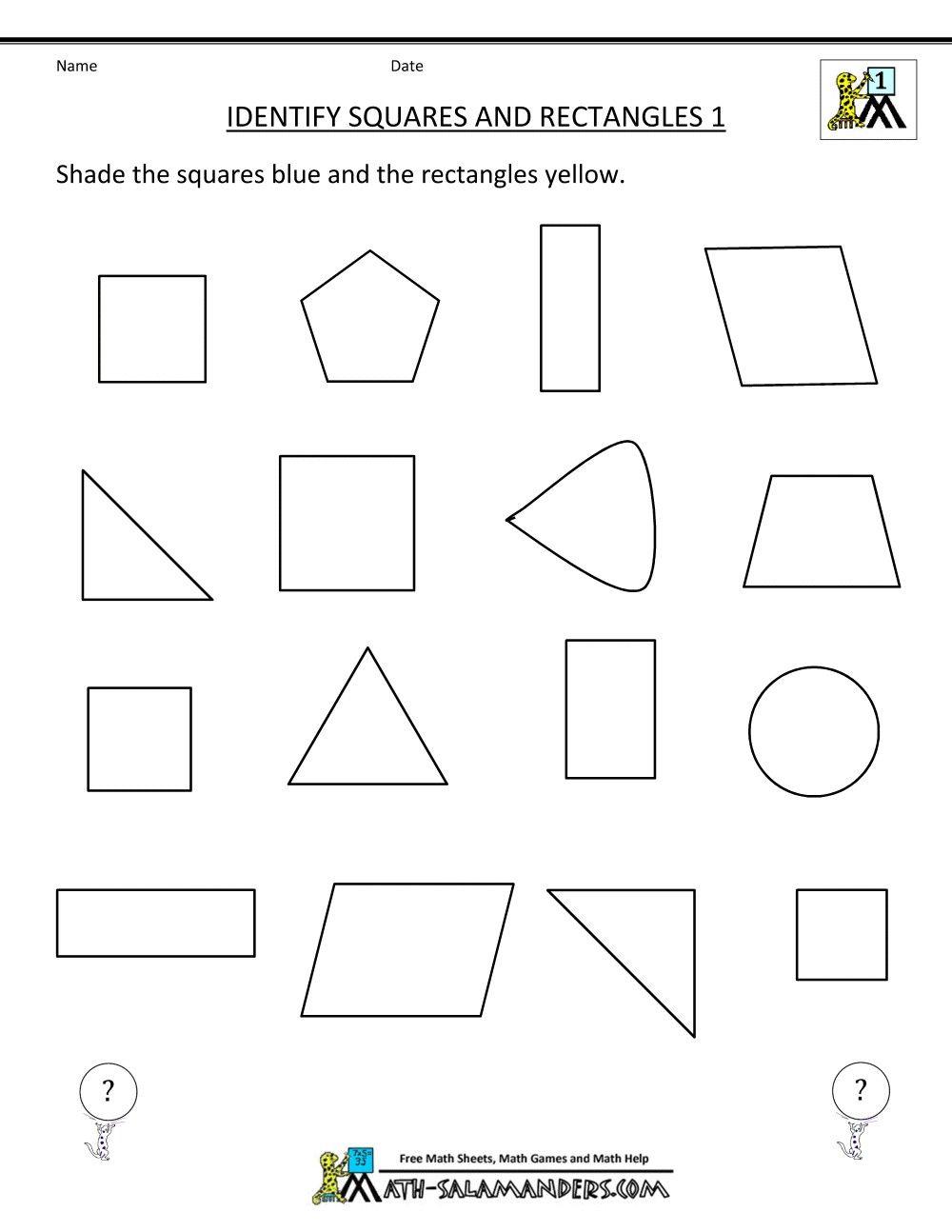3 Worksheet Free Math Worksheets First Grade 1 Fractions First Grade Geometry 1st Grade Math Worksheets Math Worksheets Geometry Worksheets