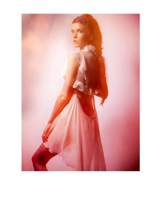 Custom Wedding Night Lingerie Set: Organza Nightgown and bolero ...