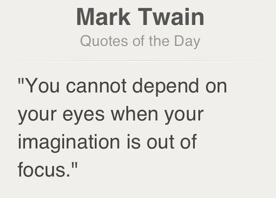 #quote Mark Twain